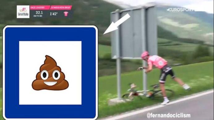 Los memes no perdonan a Dumoulin tras su diarrea en el Giro de Italia Ca...