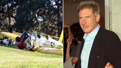 Cae avioneta de Harrison Ford