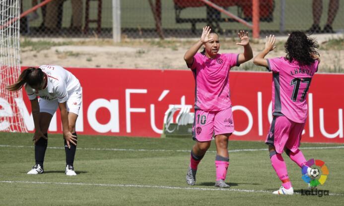 (Liga Femenina) Sevilla 5-[5] Levante: la mexicana Charlyn Corral puso d...