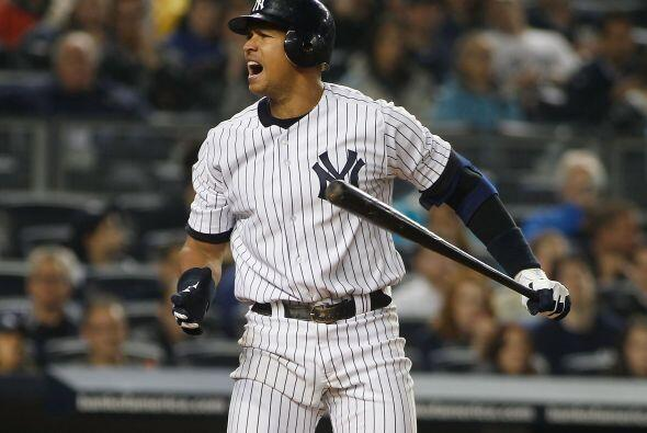 'Al-Rod'  también fue determinante en los Yankees de Nueva York con un e...