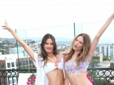 Estas angelitos de Victoria's Secret visitaron ciudad y al estilo primav...