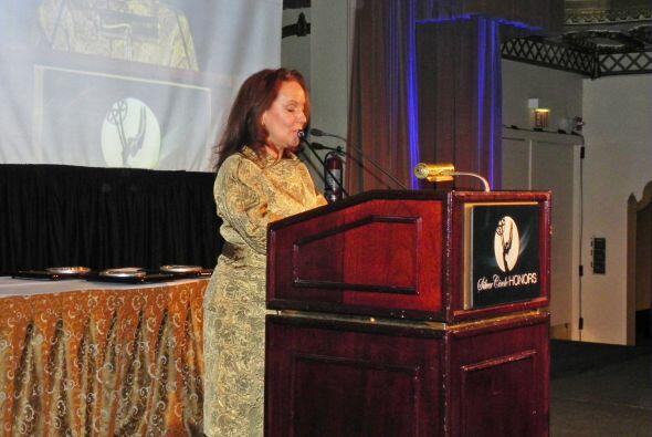 Luisa Echevarría, directora de asuntos comunitarios para Univisión y Tel...
