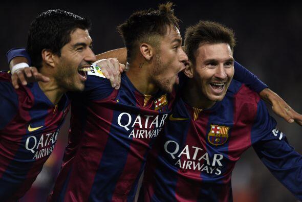 El Barcelona calmó la crisis en su interior, tras derrotar 3-1 al Atléti...
