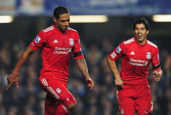 Glen dio el gol del triunfo con el que Liverpool le pegó al Chelsea.