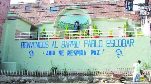 Pablo Escobar fanatismo