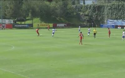 Promesa sub-15 del Toluca anotó este golazo desde fuera del área