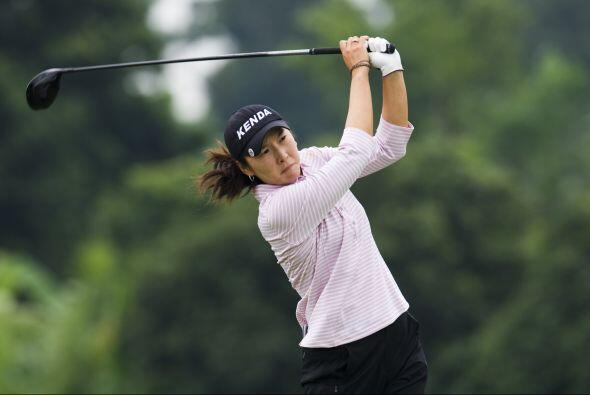 La golfista de orígen taiwanés, Candie Kung.