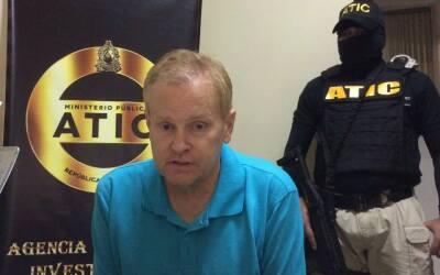 Eric Conn, abogado fugitivo estadounidense capturado en Honduras.