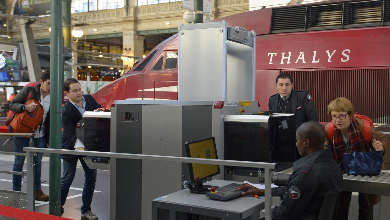 Extreman medidas en los trenes de París a Bélgica y Holanda...