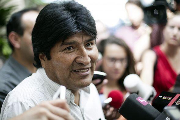 El mandatario boliviano lamentó que varios países Europeos  -Italia, Fra...