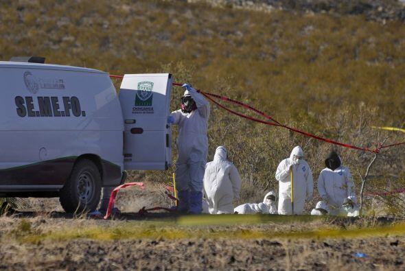 En el mismo mes autoridades mexicanas buscaban a dos policías fed...