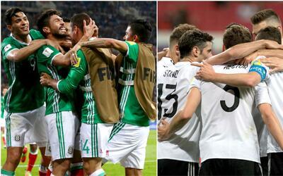 Por ahora, México iría contra Alemania en la semifinal de la Confederaci...