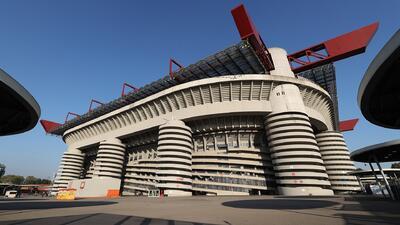 Milán está listo para disfrutar del derbi de la Madonnina