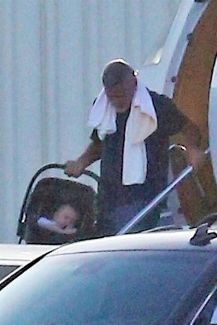 George Clooney y sus hijos