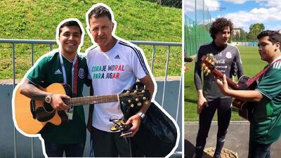 Buenos en el fútbol y el canto: así fue el 'palomazo' que Memo Ochoa y Osorio se echaron con Christian Nodal