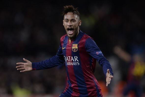 El cuarto lugar de pertenece a Neymar Jr. el delantero de Brasil y del B...