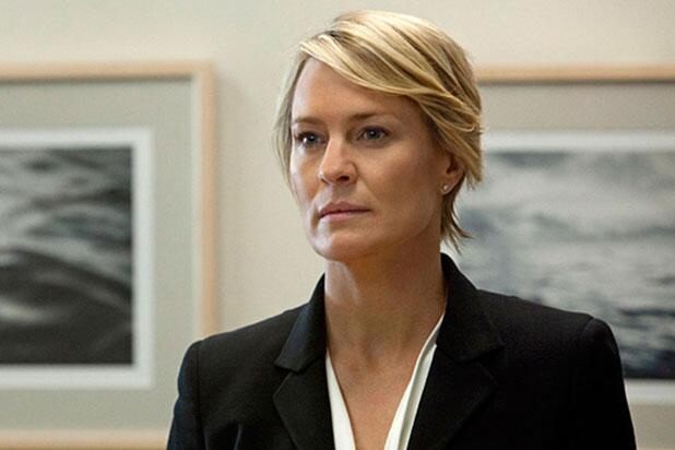 Robin Wright en House of Cards da vida a Claire Underwood.