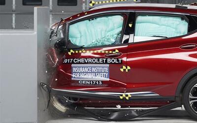 El Chevrolet Bolt brilla en pruebas de choque