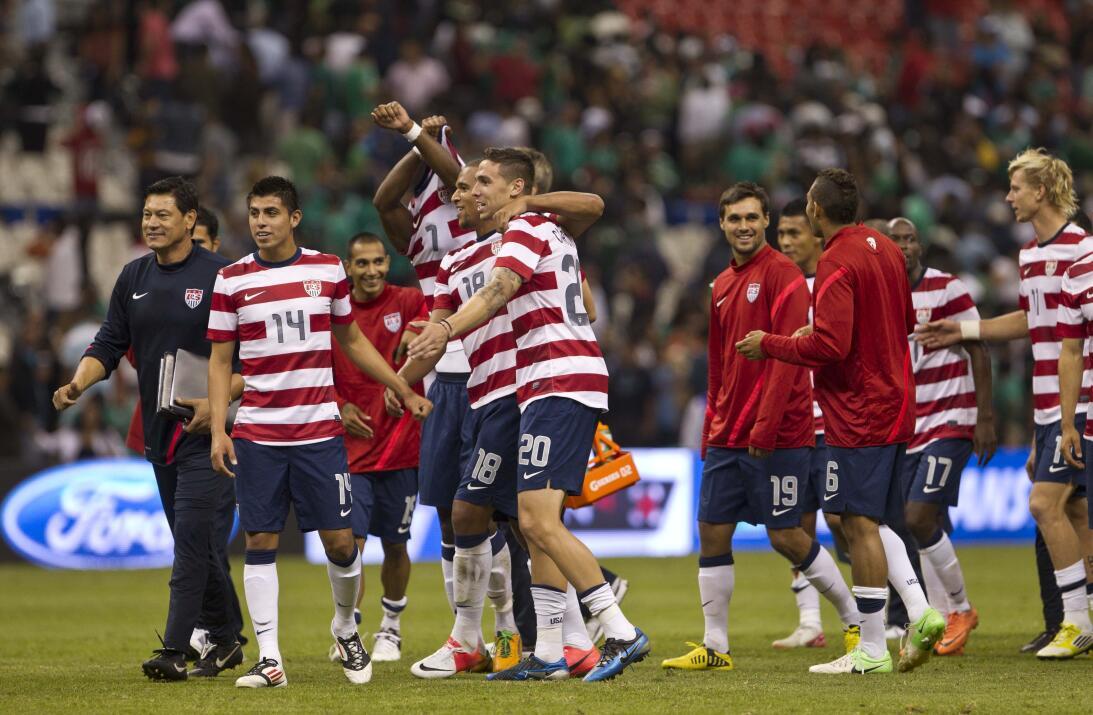 Estados Unidos venció a México en 2012