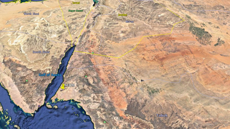 La zona donde se ubicaría Neom es una de las más frescas de Arabia Saudi...