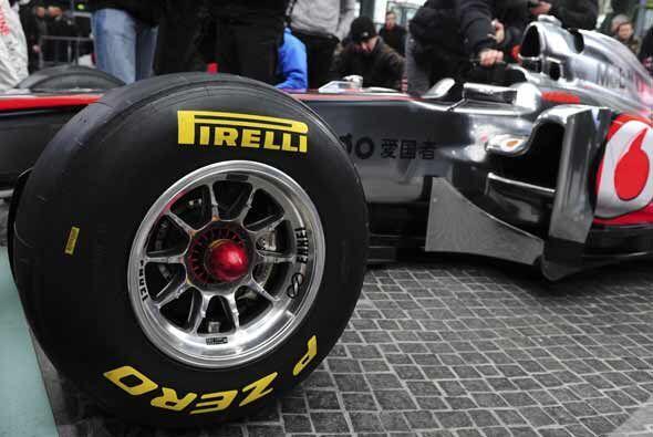 El cambio de marca de neumáticos afecta mucho al desarrollo del auto.
