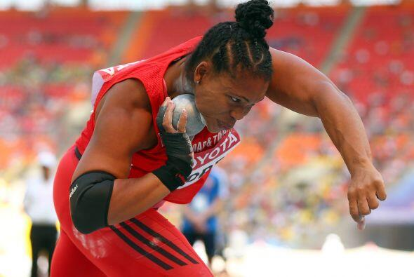 Cleopatra Borel le entregó a Trinidad y Tobago su segunda presea...
