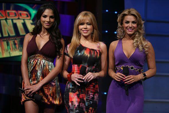 Claudia Molina es además de modelo y presentadora, una famosa entrenadora.