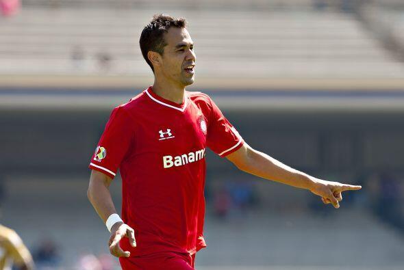 Metió el gol ante Pumas al minuto 31, disparó cuatro veces al arco de 12...