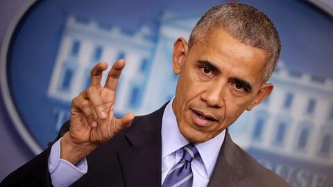 Obama en su última conferencia de prensa en la Casa Blanca