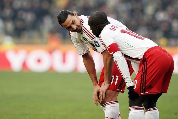 Zlatan Ibrahimovic y Seedorf platicaban sobre cómo irse al frente en el...