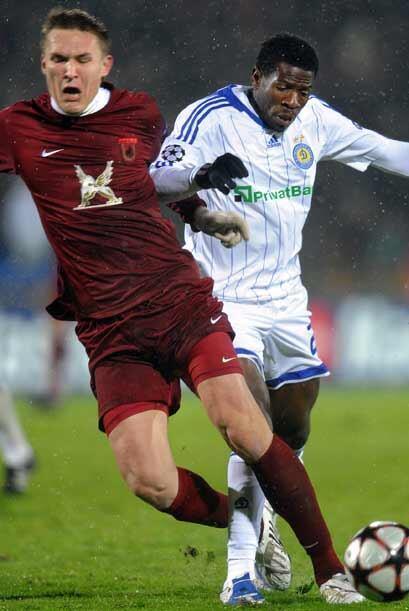 Rubín Kazán y Dinamo de Kiev empataron sin goles en un partido con mucho...