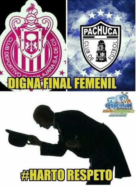 Memes final Liga MX femenil