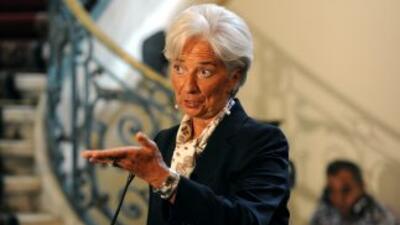 Lagardesubrayó que la ralentización de las economías emergentes contrib...