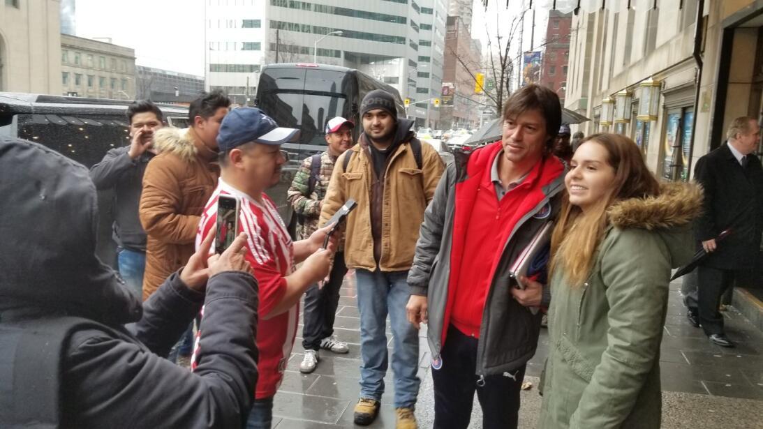 Así fue el encuentro del Rebaño Sagrado con sus fanáticos en Toronto wha...
