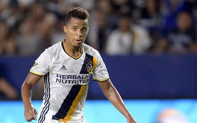 Gio dos Santos, angustiado por el bajo rendimiento del Galaxy.