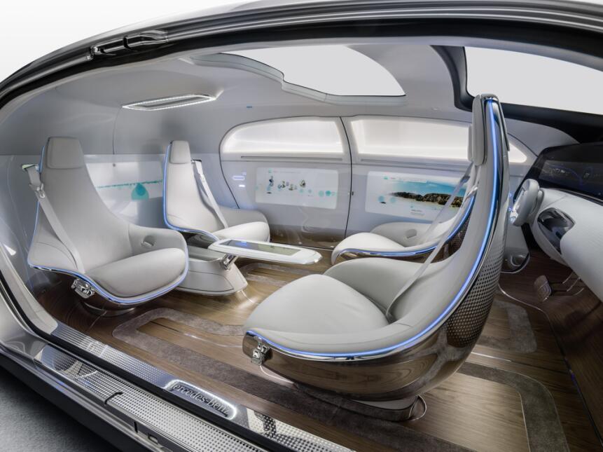 Protagonistas en el desarrollo del vehículos de manejo autónomo Mercedes...