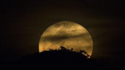 Así se vio la superluna del fin de semana