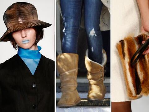 Dale un 'plus' a ti 'look' invernal con la ayuda de piezas muy 'fashion'...