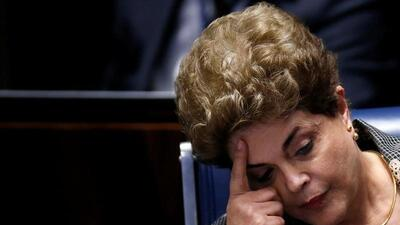 Brazil's president Dilma Rousseff impeached. Aug 31, 2016.