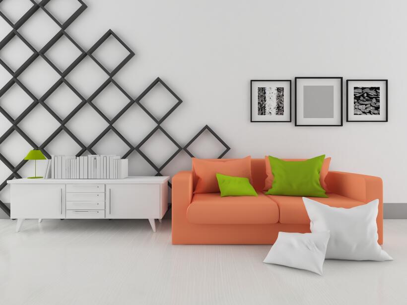 paredes blancas decoracion