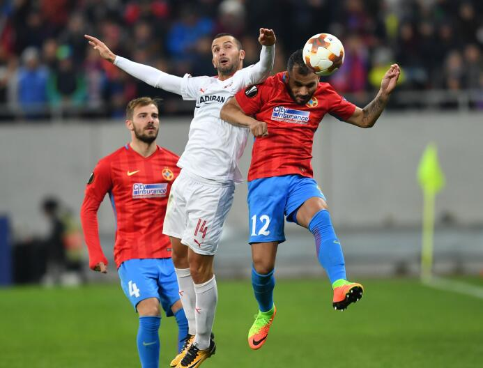 Steaua Bucarest 1-1 Hapoel Be'er Sheva: el triunfo le daba la clasif...