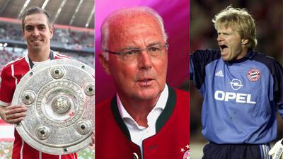 ¡De ensueño! Este es el equipo ideal de Bayern Munich en sus 118 años de historia