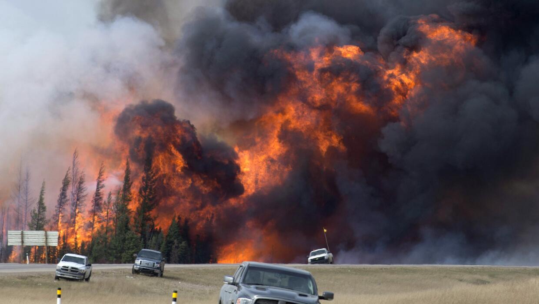 Incendio Canadá