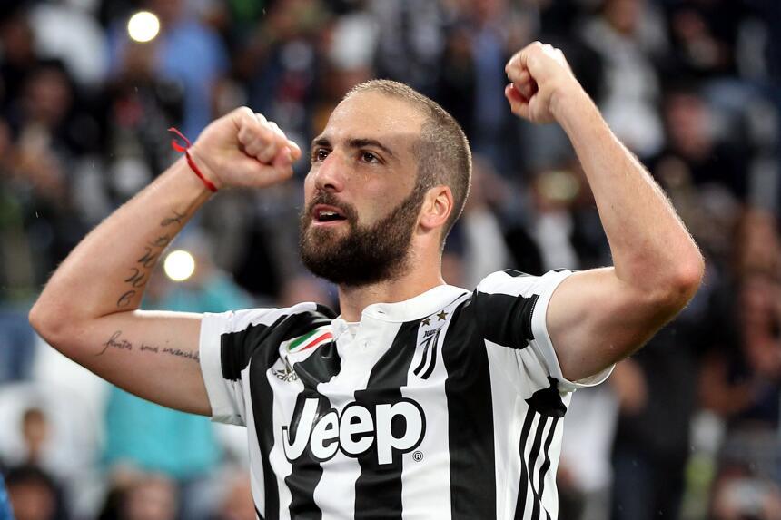 10. Gonzalo Higuaín (Juventus) - Puntaje: 90