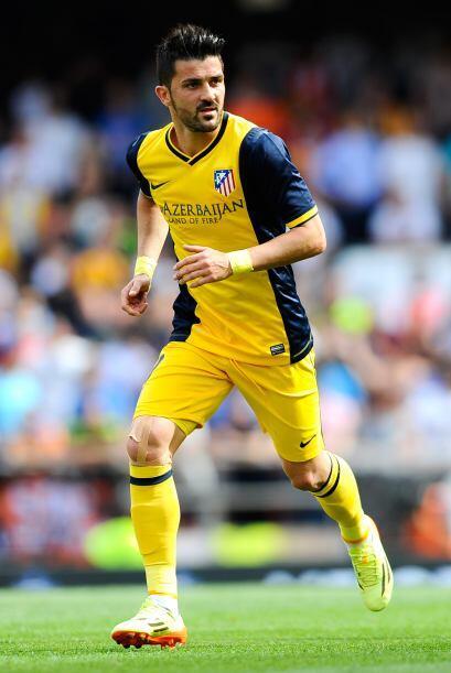 David Villa es uno de los jugadores más seguidos, pues su desempeño en l...