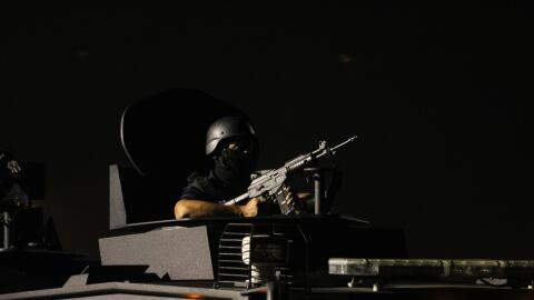 Un policía vigila en el estado de Jalisco, bastión del Car...