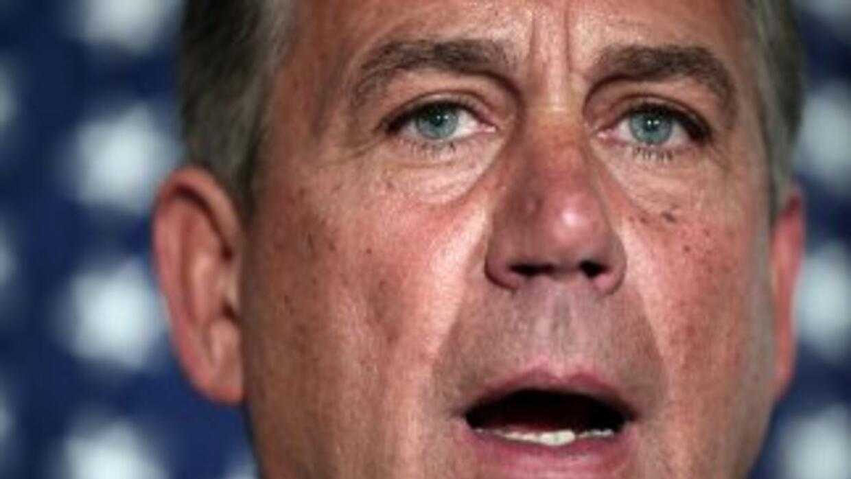 John Boenher, líder de la bancada del Partido Republicano en la Cámara d...