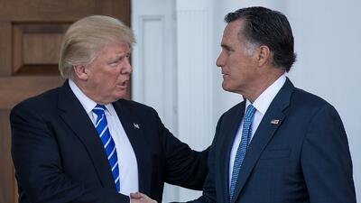 En fotos: Los antiguos enemigos que ahora se acercan a Donald Trump