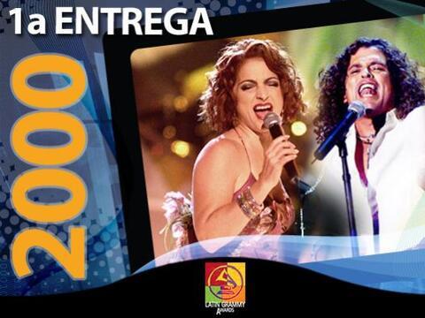 Latin GRAMMY 2000 fue el inicio de una historia llena de música y...