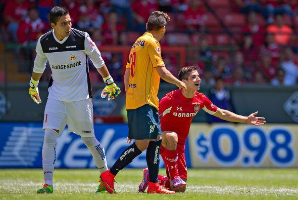 El mejor portero: Felipe Rodríguez. El arquero de Morelia mantuvo...